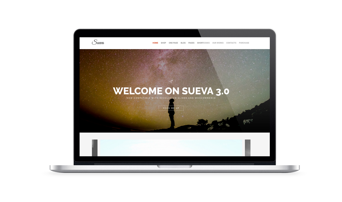 Sueva Free Wordpress Personal Responsive Blog Theme
