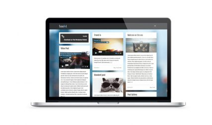 Looki, minimal WordPress blog theme.