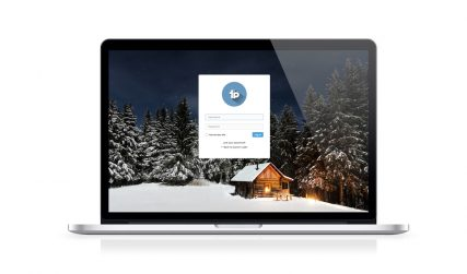 WIP C-Login, free WordPress login page.