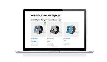 WIP WooCarousel, free WooCommerce product carousel plugin.